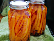 Spicy Carrot Pickles